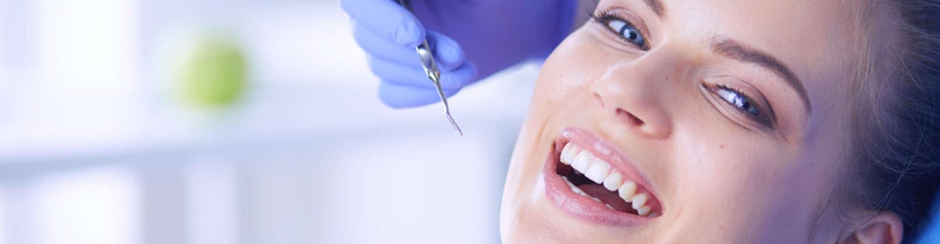 smiling patient