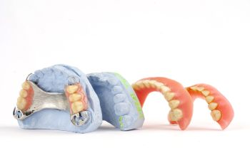 four pairs of dentures